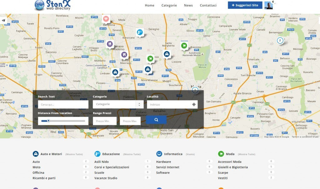 StonX - Web Directory